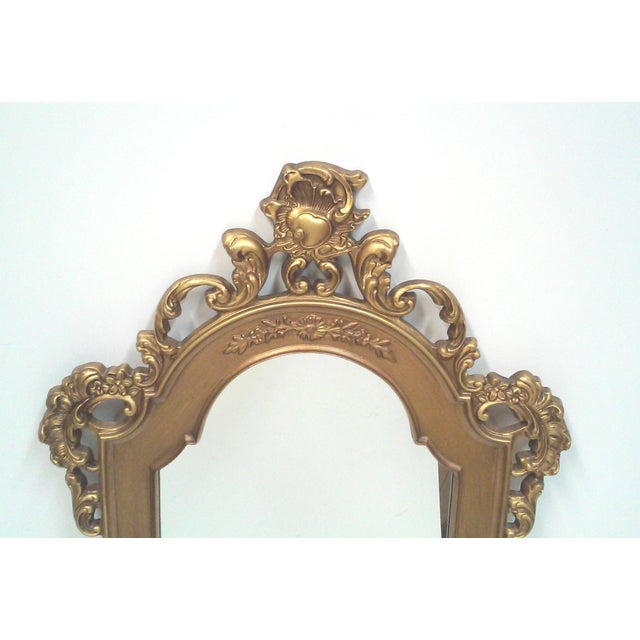 Gilt Baroque Wall Mirror - Image 4 of 5