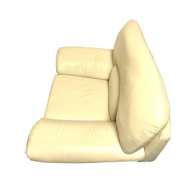 Naugahyde Atomic Club Chair - Image 5 of 10