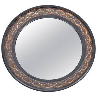 Stephen Polchert Ceramic Mirror For Sale