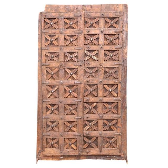 Antique Carved Moorish Door For Sale - Image 4 of 10