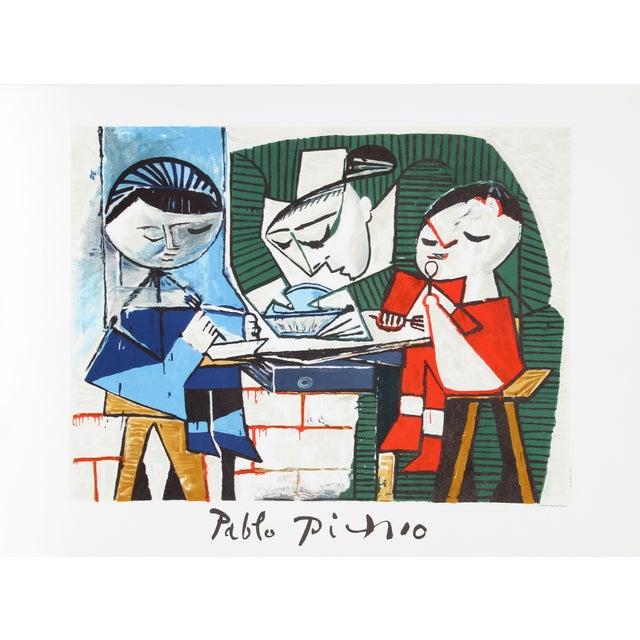 Pablo Picasso Lithograph - Le Repas Des Infants - Image 1 of 2