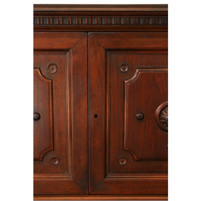 Antique 1900s Mahogany Cabinet - Image 4 of 8