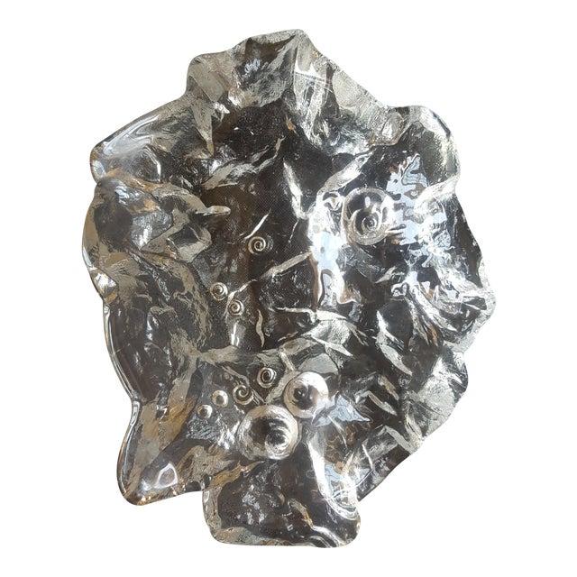 Modern Glass Decorative Bowl - Image 1 of 4