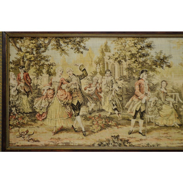Early Framed Tapestry Wall Art - Image 3 of 11