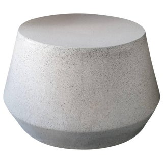 Cast Resin 'Tom' Cocktail Table with Natural Stone Finish by Zachary A. Design For Sale