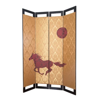 Wild Horse Room Divider For Sale