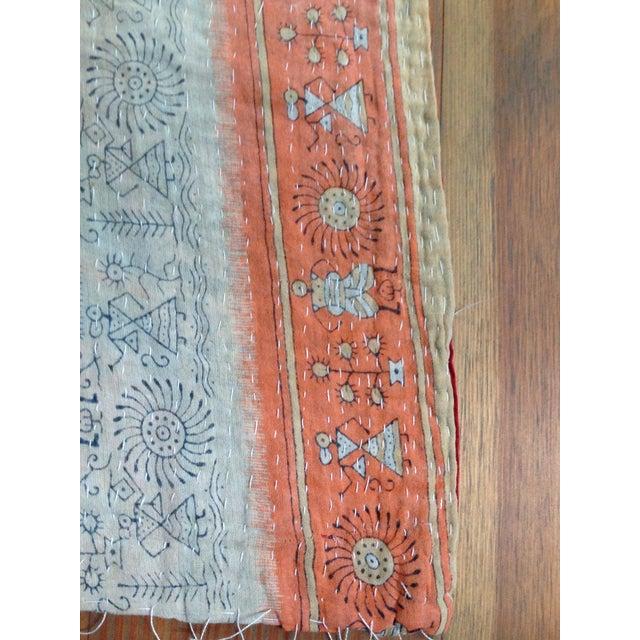 Vintage Indian Kantha Textile - Image 5 of 7