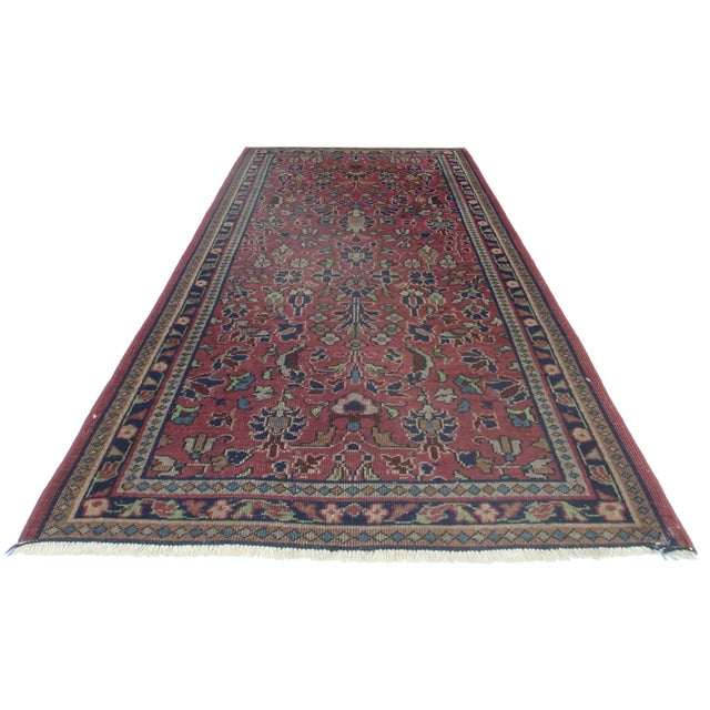 For sale is this Turkish Sparta hand-knotted wool rug. Features an all-over floral design.