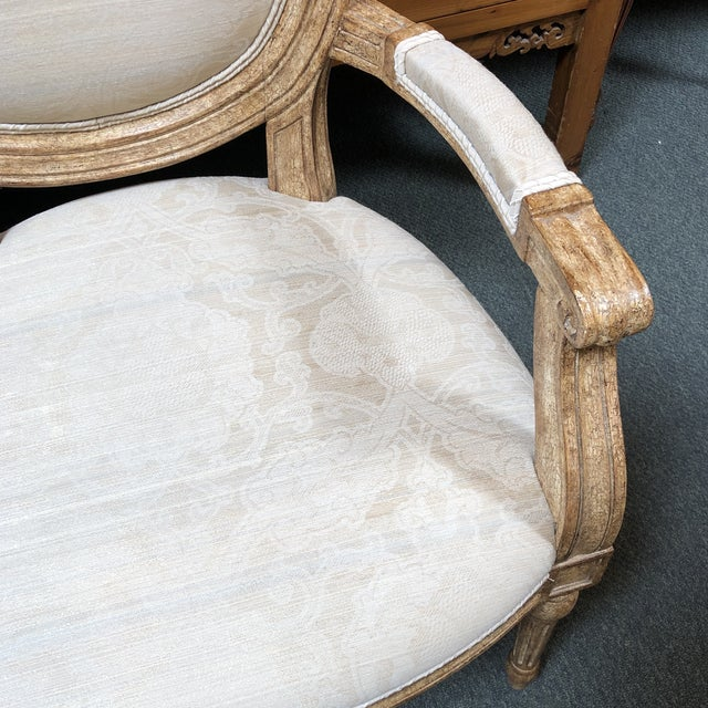 New Ovale Arm Chair by Hamilton Collection For Sale - Image 9 of 13