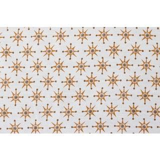 Virginia Kraft Prinz Fabric, 3 Yards in Caramel/Bark For Sale