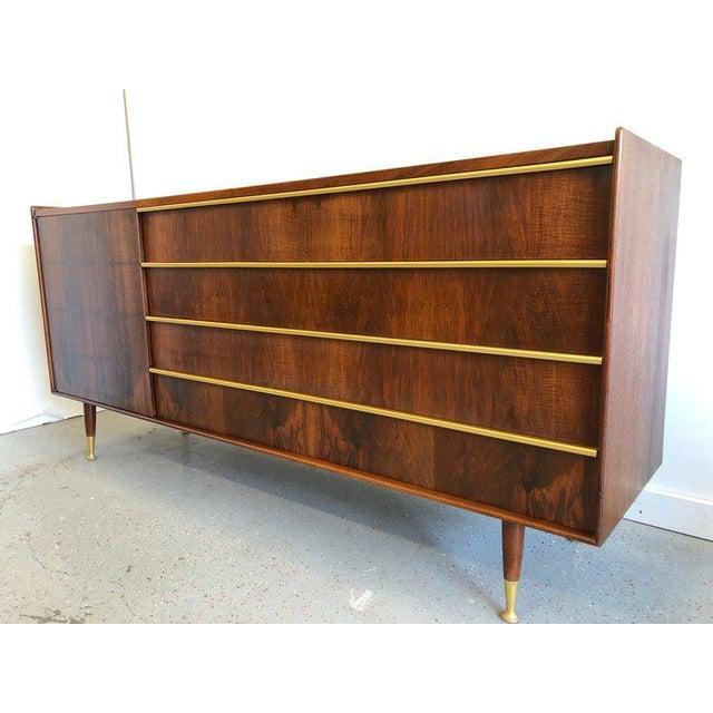 Mid-Century Modern 1950s Mid-Century Modern Edmond Spence Sideboard For Sale - Image 3 of 7