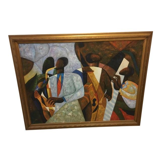 Original Jazz Art Painting For Sale
