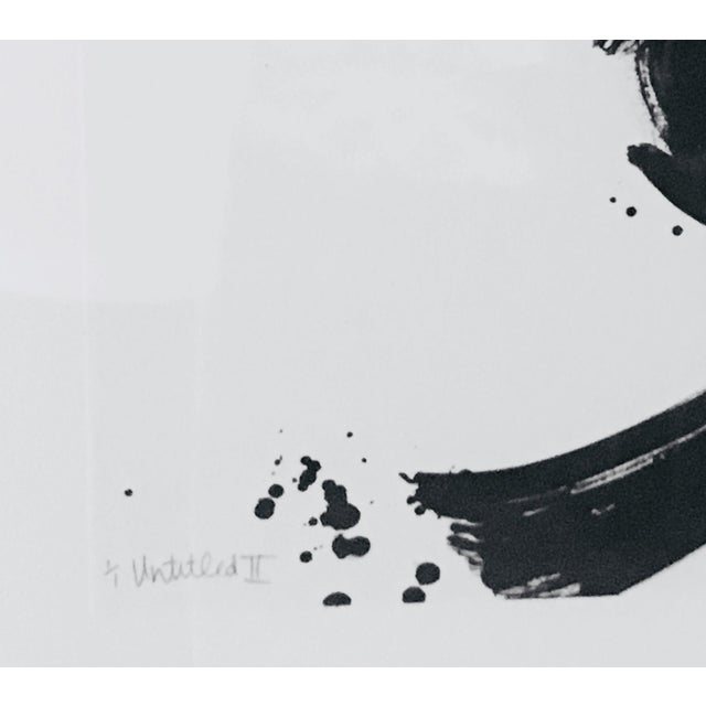 Abstract 20th Century Abstract Ink on Paper For Sale - Image 3 of 10