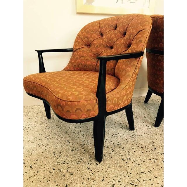 Modern Pair of Classic Dunbar Janus Armchairs in Larsen Fabric For Sale - Image 3 of 10