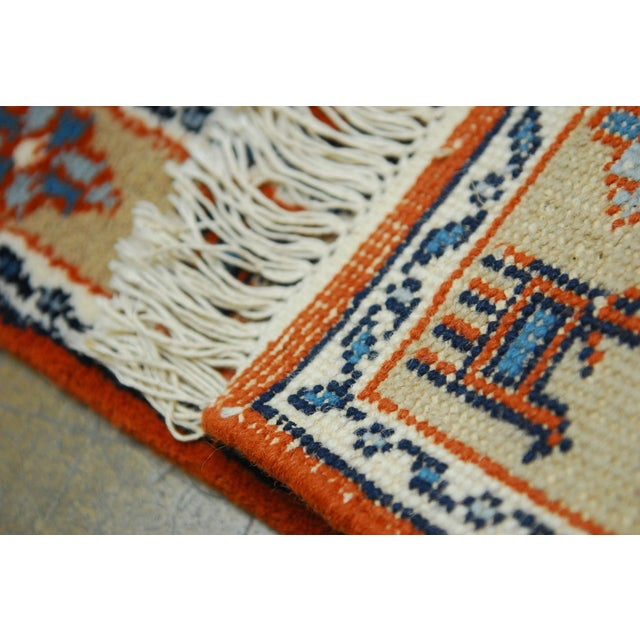 Tribal Meshkin-Style Carpet - 2′6″ × 4′3″ For Sale - Image 4 of 5