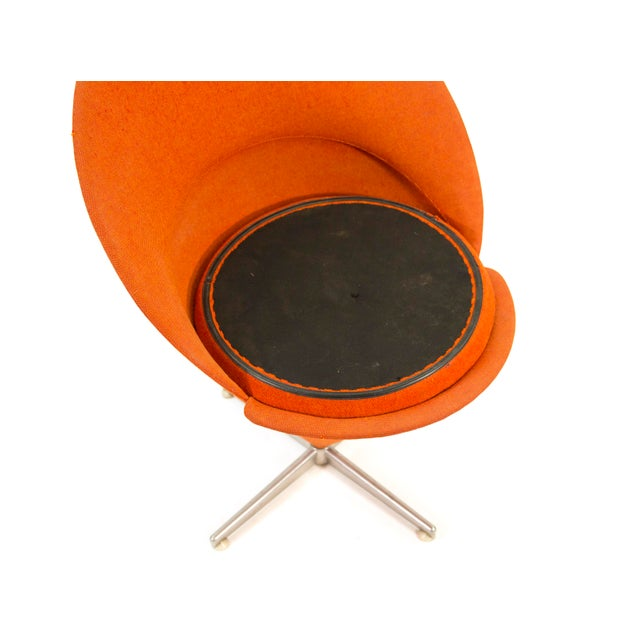 1950s Contemporary First Series Verner Panton Cone Chair For Sale - Image 9 of 11