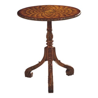 Scarborough House Marquetry Occasional Table For Sale