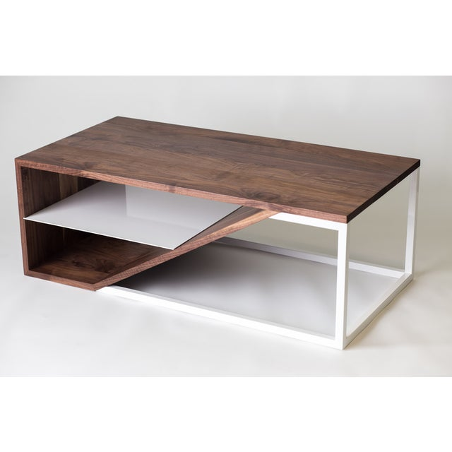 Cortado Coffee Table For Sale In Portland, OR - Image 6 of 6