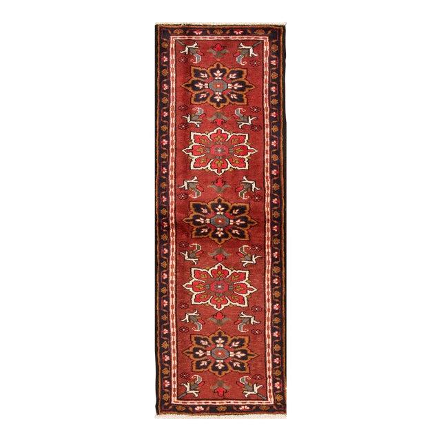 "Apadana - Vintage Persian Heriz Rug, 2'2"" x 6'6"" For Sale"