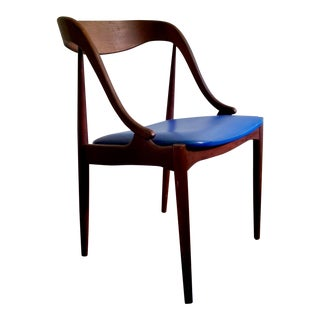 Johannes Anderson Danish Modern Side Chair For Sale