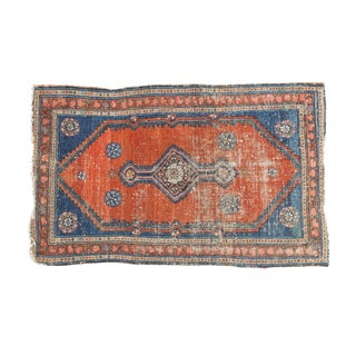 "Antique Fine Malayer Rug - 2'4"" x 3'9"" For Sale"