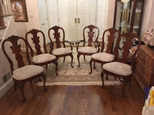 Bon American Drew By Ladd Furniture Co. Set Includes 2 Arm Chairs And 4 Side  Chairs