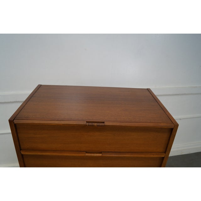 Mid-Century Danish Influenced Walnut Tall Chest - Image 8 of 10