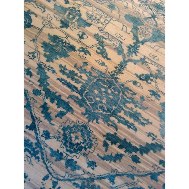 """Erased Hand-Knotted Luxury Rug - 7'11"""" X 9'10"""" - Image 4 of 9"""