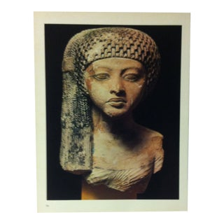"""Circa 1970 """"An Amarna Princess"""" Great Sculpture of Ancient Egypt Print For Sale"""