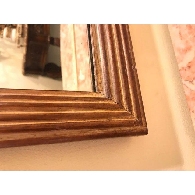 Compatible Hollywood Regency Grosfed House Ribbon and Tassle Form Mirrors, Pair For Sale - Image 9 of 13