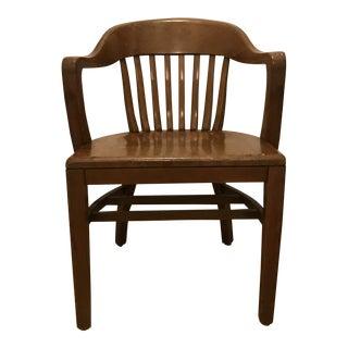 Jos. L. Shoemaker Co. Inc. Antique Bankers Chair For Sale