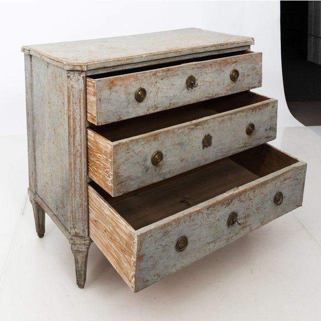 Gustavian Chest of Drawers For Sale - Image 12 of 13