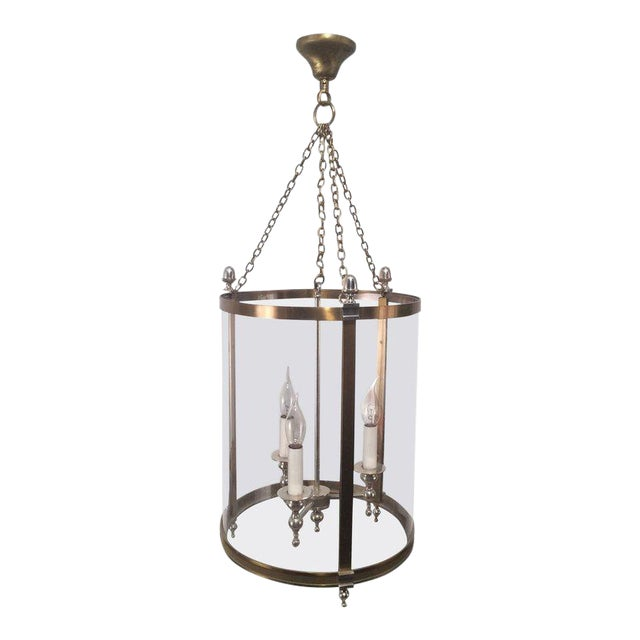 1970s French Neoclassical Style Hanging Lantern - Image 1 of 10