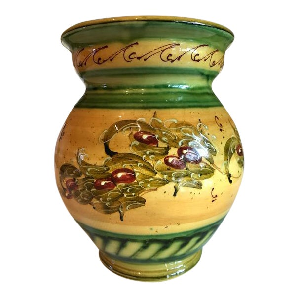 Rustic French Signed & Handmade Vase - Image 1 of 6
