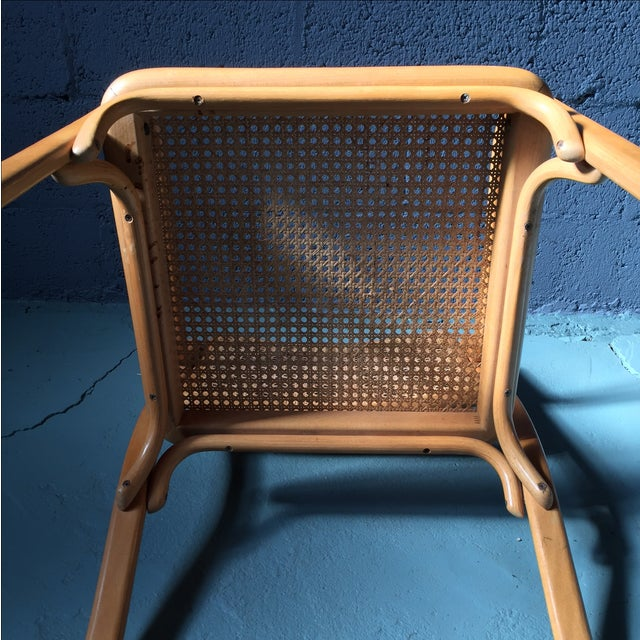 Danish Modern Bentwood Cane Chairs - Set of 6 - Image 6 of 11