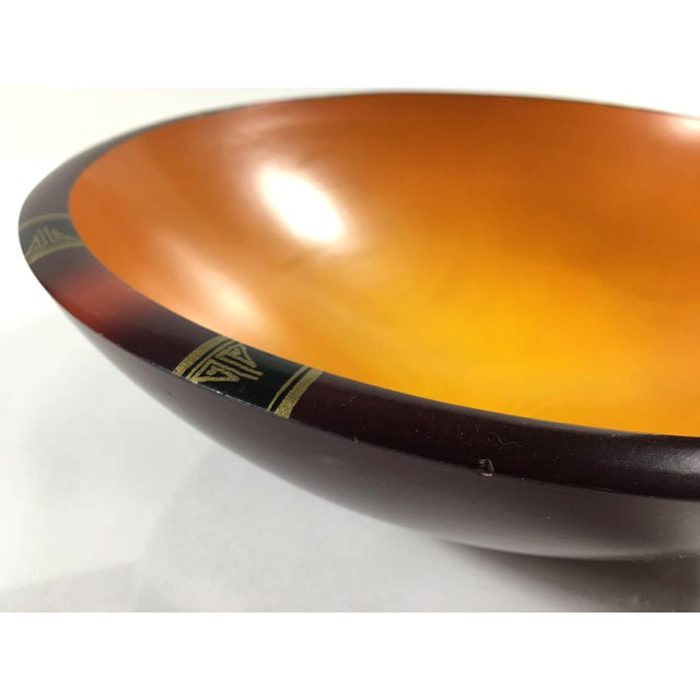 Maple Mid-Century Modern Peggy Potter Wooden Bowl For Sale - Image 7 of 11