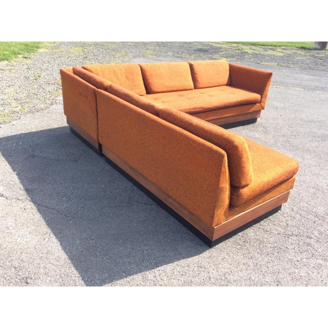 Craft Associates Adrian Pearsall Sectional Sofa Craft Associates For Sale - Image 4 of 11