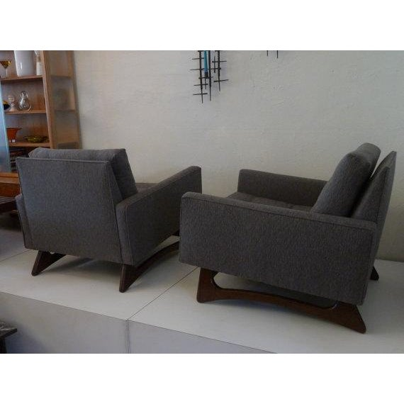 Mid-Century Adrian Pearsall Chairs - A Pair For Sale In Los Angeles - Image 6 of 6