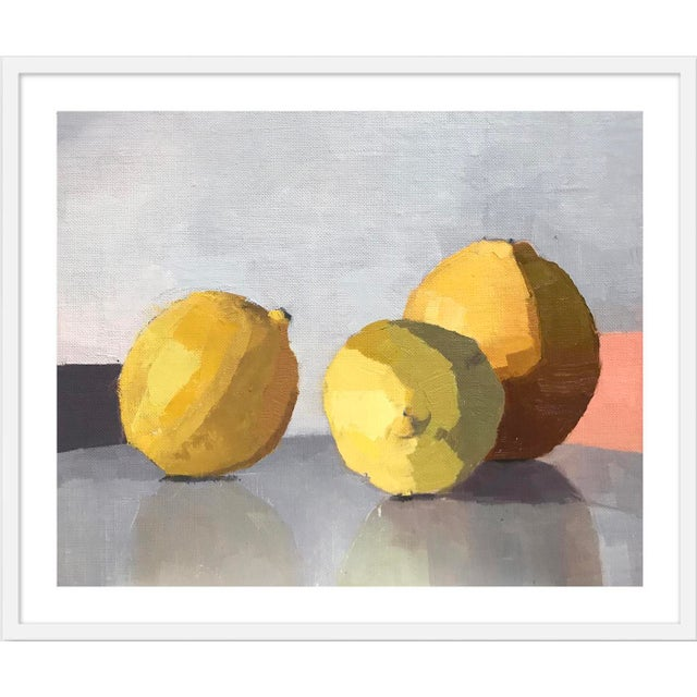 "Contemporary Medium ""Three Lemons"" Print by Caitlin Winner, 37"" X 31"" For Sale - Image 3 of 3"