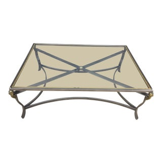 Neoclassical Style Coffee Table For Sale