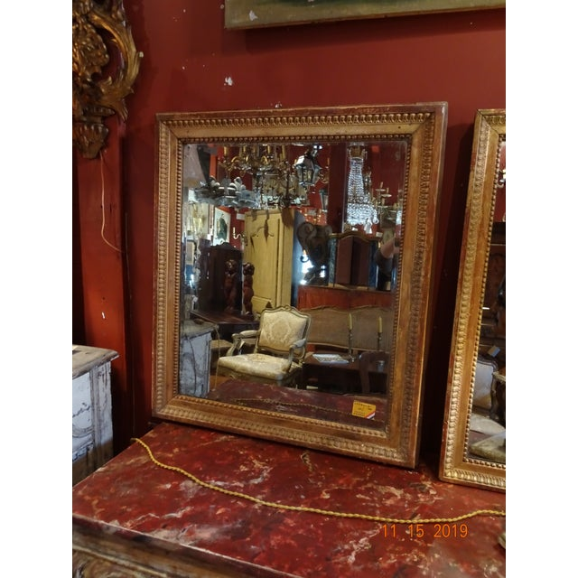 Gold 19th Century French Mirror For Sale - Image 8 of 10