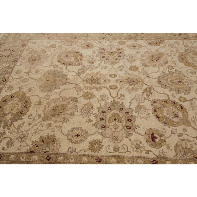 "Apadana Peshawar Rug - 7'11"" x 10' For Sale - Image 5 of 7"