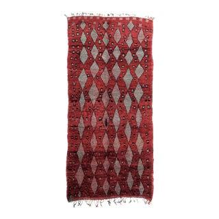 Vintage Moroccan Talsint Rug - 6′ × 11′7″ For Sale