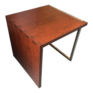 John Strauss Lake Shore Lacquer Side Table For Sale