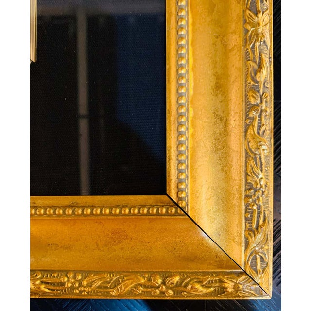 """1990s Itzchak Tarkay Stereograph in Matted Gilt Frame """"Enchanted Moments"""" For Sale - Image 5 of 11"""