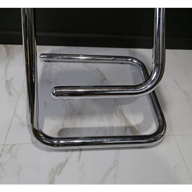Lucite 1970s Modern Lucite Bar Stools - a Pair For Sale - Image 7 of 10