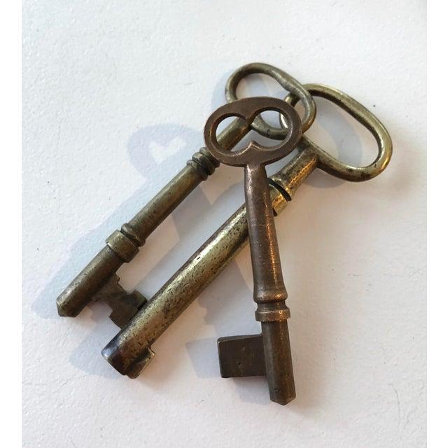 Set of 9 Antique & Vintage Skeleton and Door Keys For Sale - Image 12 of 13