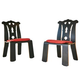 Image of Chippendale Accent Chairs