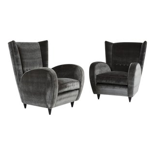 Paolo Buffa Lounge Chairs - a Pair