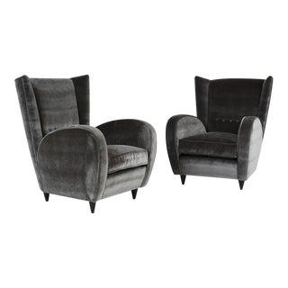 Paolo Buffa Lounge Chairs - a Pair